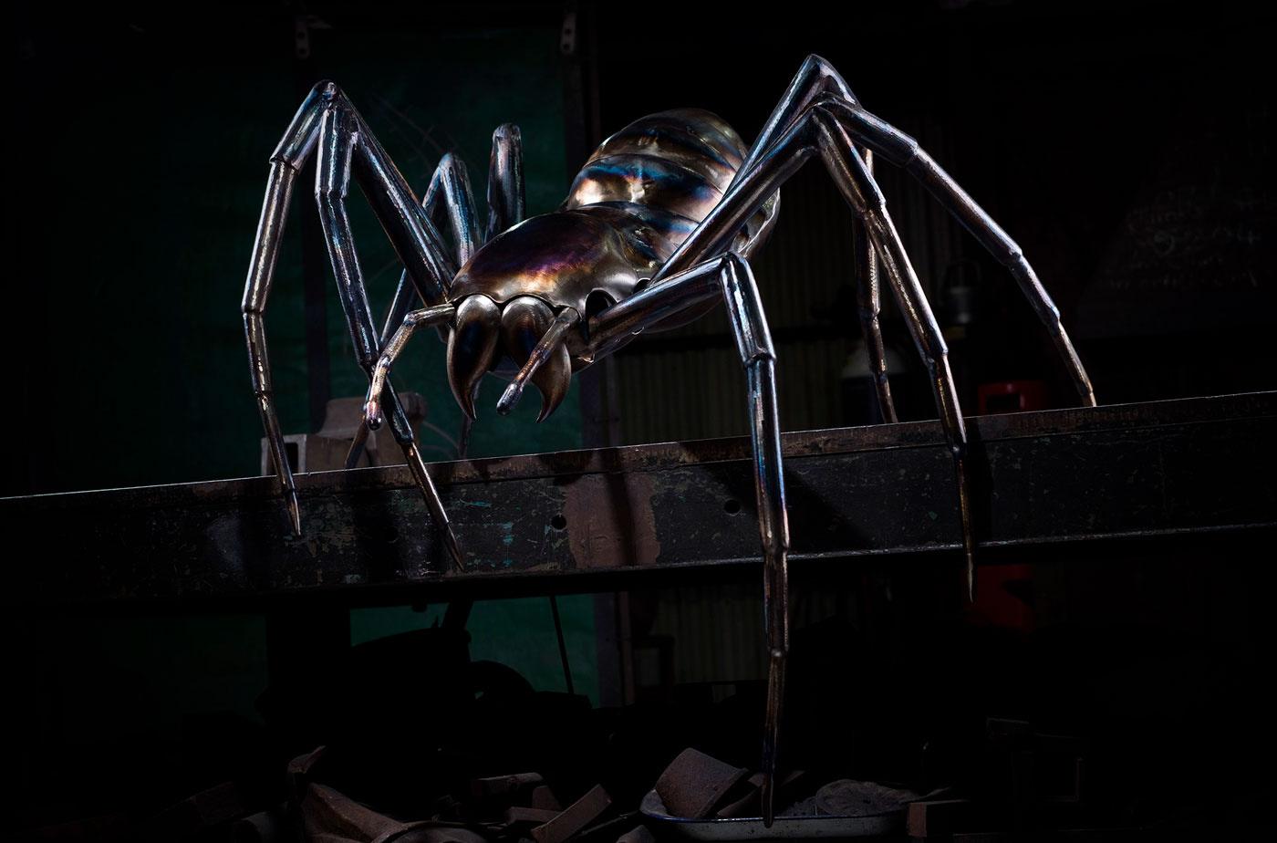 Giant Spider Sculpture - Thrussells