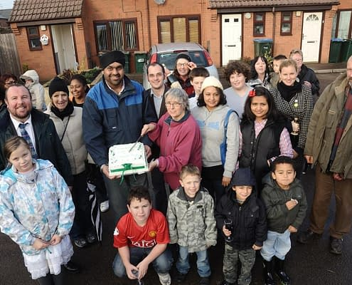 Community - Iden Road Coventry - DIY Streets Sustrans - Thrussells